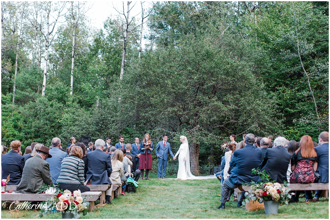 Kings Hill South Paris Maine Wedding